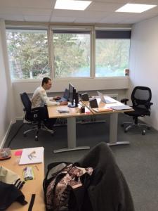 Notre nouveau bureau :)